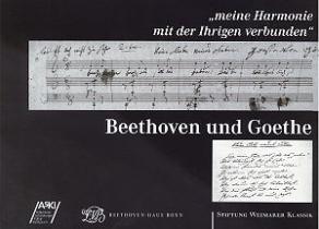 Beethoven und Goethe